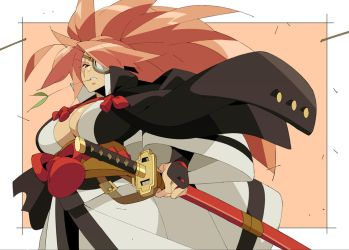 Baiken Fan art by Nisego