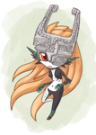 Commission imp Midna by HowXu