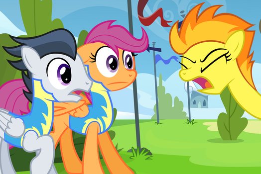 First Day At the Academy (Original) by DaringDashie