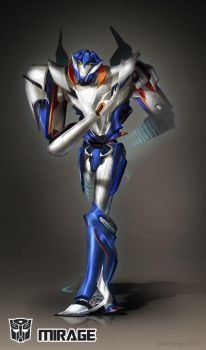 Transformers Prime: Mirage by dou-hong