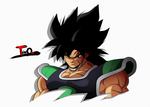Broly pero canon y mas chido by Theo001