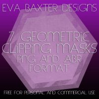 EVA BAXTER DESIGNS - GEOMETRIC CLIPPING MASKS by EvaTakesNoPrisoners