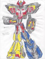 Movie Megazord by bigtimbears