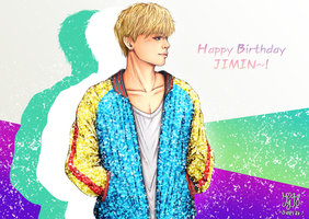 [BTS] Happy Birthday Jimin~ by IperGiratina98