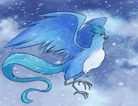 Articuno by ToolOfTheDay