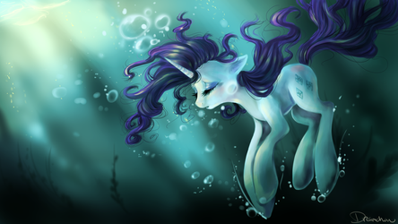 Summer Dive by dream--chan