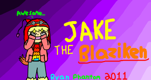 Jake the Blaziken by RyanPhantom