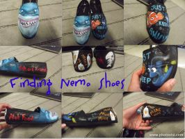 Finding Nemo Shoes by Serene22