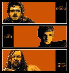 The Good, The Bad and The Ugly by LiquidSoulDesign
