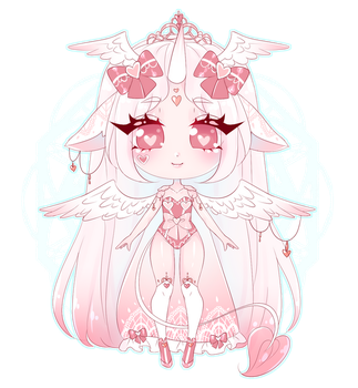[ VDAY ADOPT CLOSED] Love Warrior by shelselle