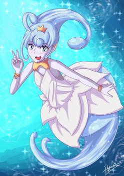 Give me Lumites - Esna - Ever Oasis by hokushi