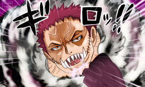 One Piece Chapter 883 Katakuri Mouth Revelation Co by Amanomoon