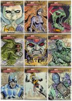 Marvel Masterpiece Cards 3 by mothbot