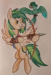 Silent Arrow and Chat by GracefulArt693