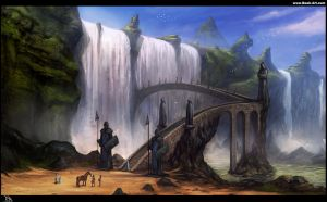 Water Temple concept by RogierB