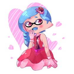 Sweet squid by SashaMalinka
