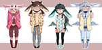 [ADOPTABLES] Good n Evil Bunnis [OPEN] [SET PRICE] by Rinn-y