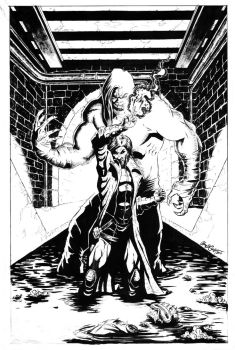 Gambit Cover Inks by acarabet