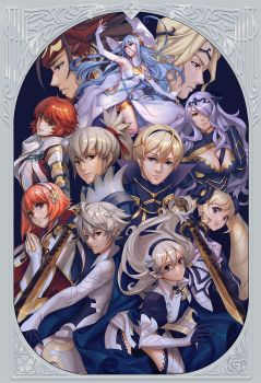 Fire Emblem Royals by lucidsky