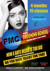 Flyer Design for model grooming by zubayer45