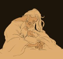 Beren and Luthien by jubah