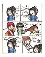 Sasuke is ... annoying ? by BevynJM