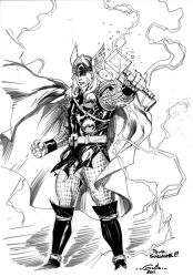 Thor the mighty by SpiderGuile