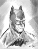 Batman-8min by Mark-Clark-II