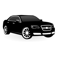 Chrysler 300c vector by ivprogrammer