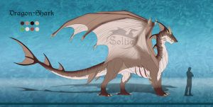 Adopt[CLOSED] Dragon-Shark by Soltia
