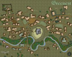 The Town of Greenest by IrondrakeX