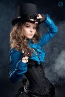 Steampunk Girl by LahmatTea