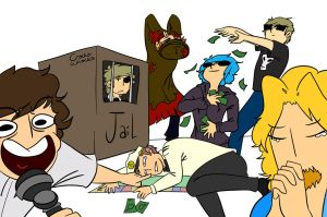 Draw The Squad - Monopoly [Eddsworld] by Cracka-Whacka