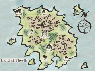 Land of Thesth by LinkGallant
