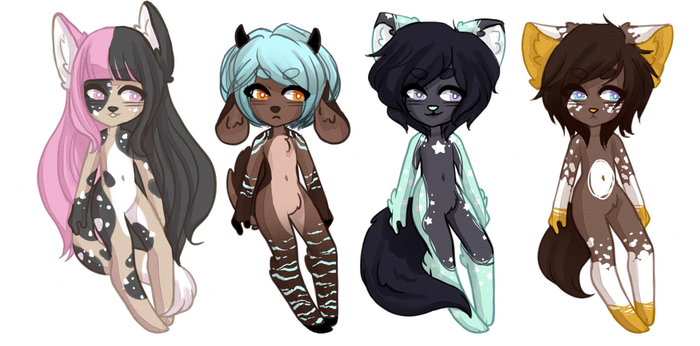 [OPEN 1/4] Adopts 8 by pastelpastel