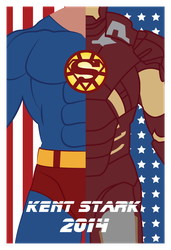 Kent Stark Presidential Campaign Poster by metaknightmare1234
