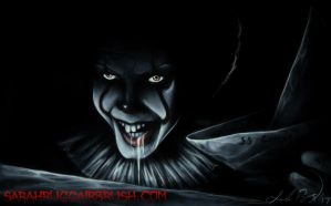 Storm Drain Pennywise by Jackolyn