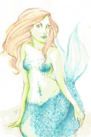 a mermaid by ccarry