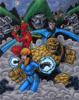 Fantastic Four Artist Proof 1 by tonyperna