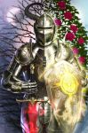 Knight of Light and Darkness by LeoNealArt
