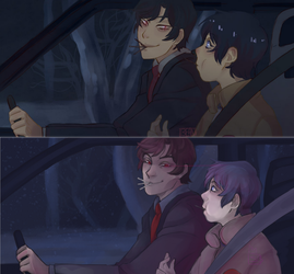 Erased redraw - 5 months by Small-Bean