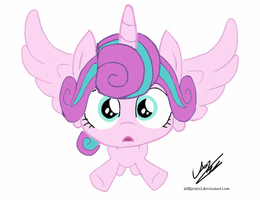 Flying Flurry Hearts by arifproject