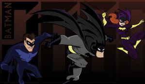 Bruce timm Bat universe by crost92