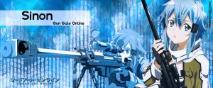 Sinon Banner by ValElfenMoon