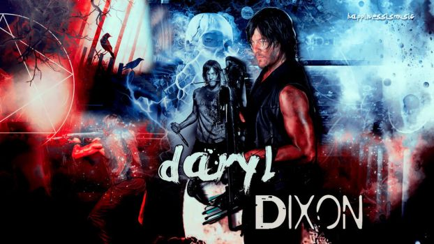 Daryl Dixon wallpaper 02 by HappinessIsMusic