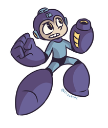 mega man by flipskip