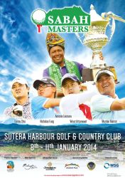 Poster - Sabah Masters 2014 - Golf by naugthy-devil