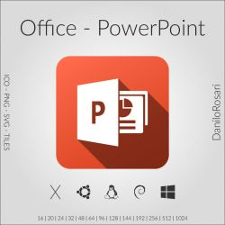 Office (PowerPoint) - Icon Pack by DaniloRosari