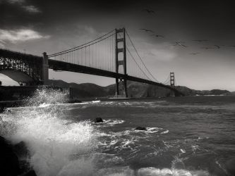 afternoon in Golden Gate by VaggelisFragiadakis