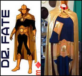 Dr. Fate cosplay by LetsAllBeNuerotic
